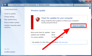 how to update windows 7 step 5