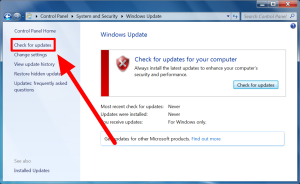 how to update windows 7 step 6