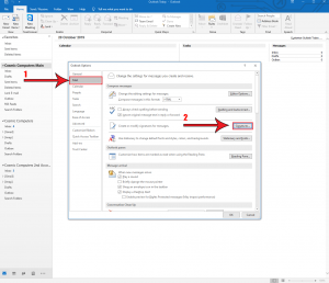 How-to-add-email-signature-in-outlook-2019